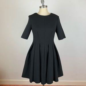 COS Black Skater Sheath Dress